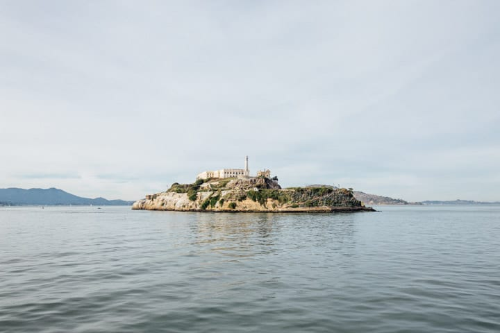 alcatraz island san francisco, california