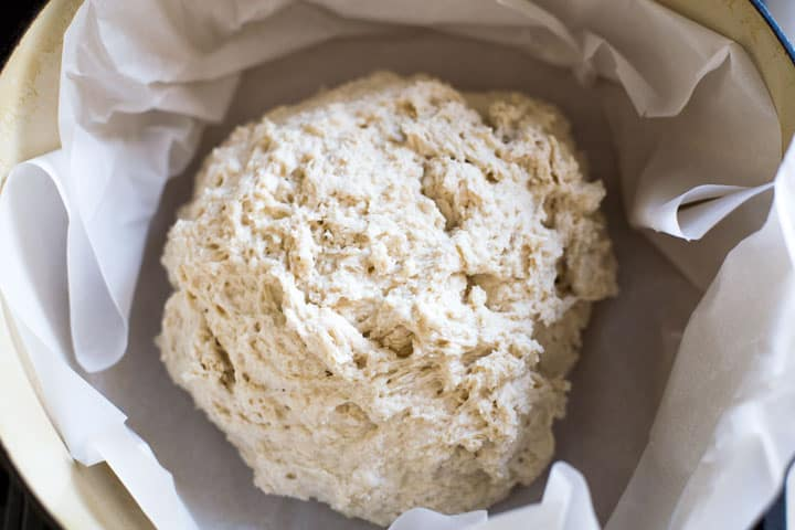 irish soda bread dough ball