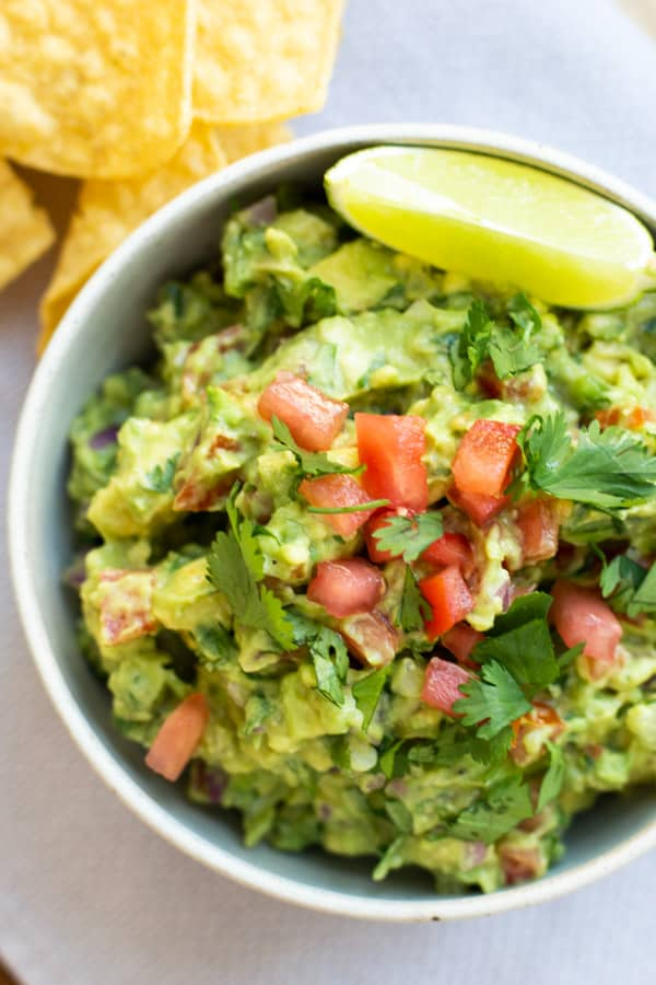 easy homemade mexican guacamole from the travel palate