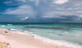 beach and ocean riviera maya