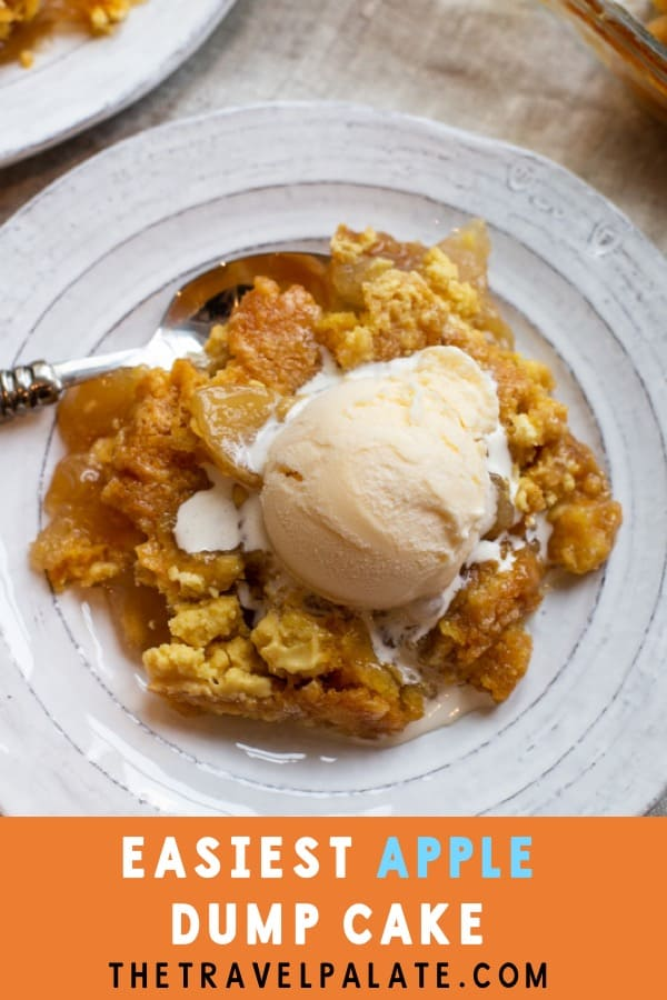 apple dump cake from the travel palate dot com