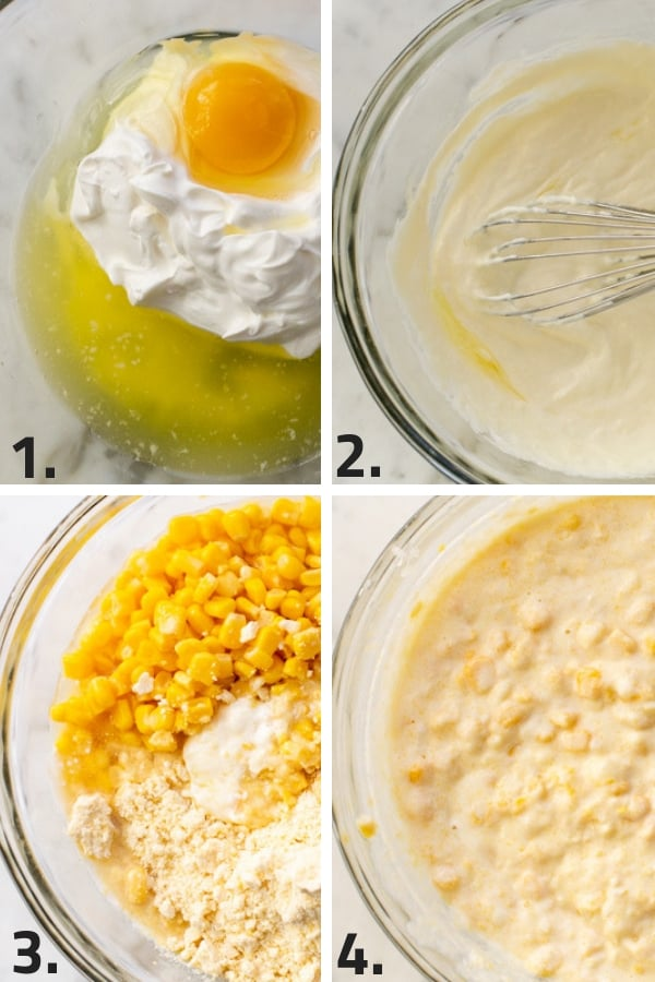 steps to making creamy corn casserle