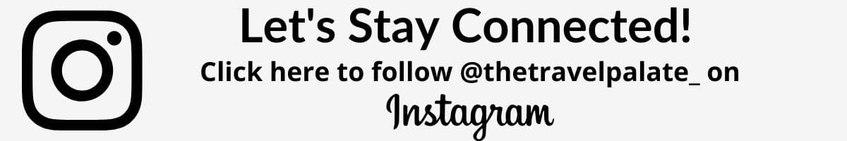 let's stay connected to instagram graphic