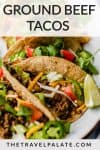 tacos with text overlay of recipe name