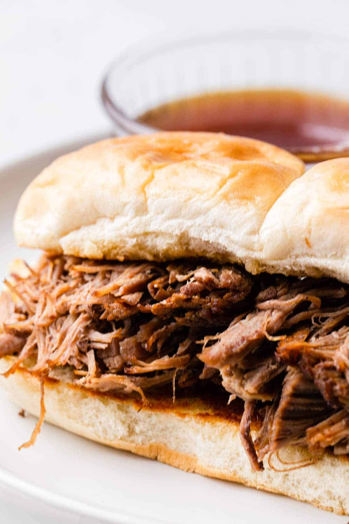 French dip sandwich.