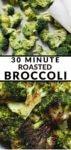 30 minute roasted broccoli