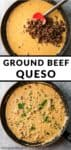 ground beef queso